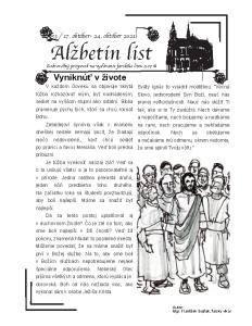 Alžbetin list 53