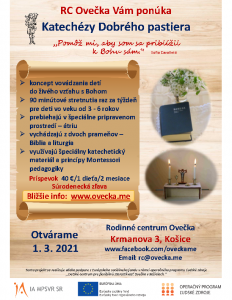 Katechézy Dobrého pastiera_RC Ovečka